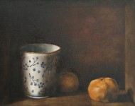 cup & two oranges