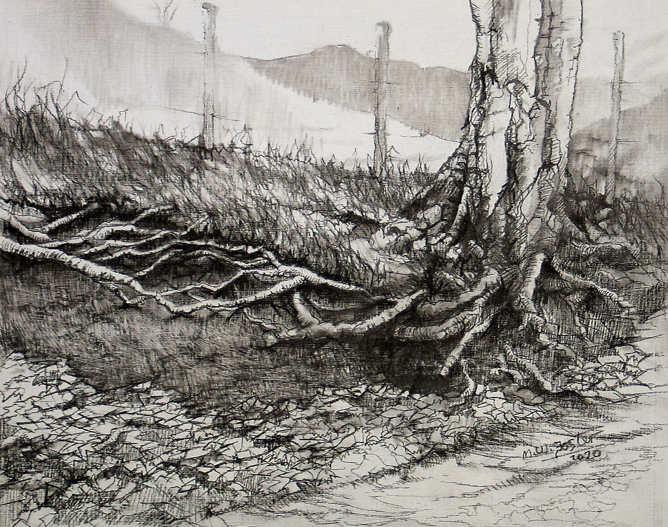 Batch Valley (charcoal)