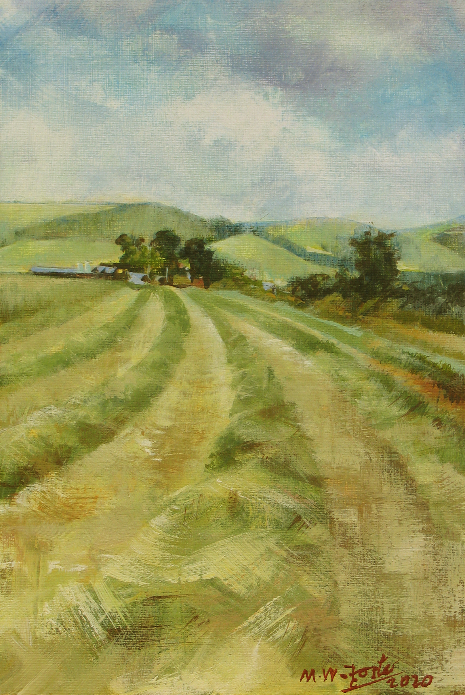 Long Mynd Haymaking